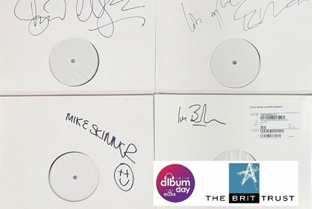 National Album Day White Label Auction